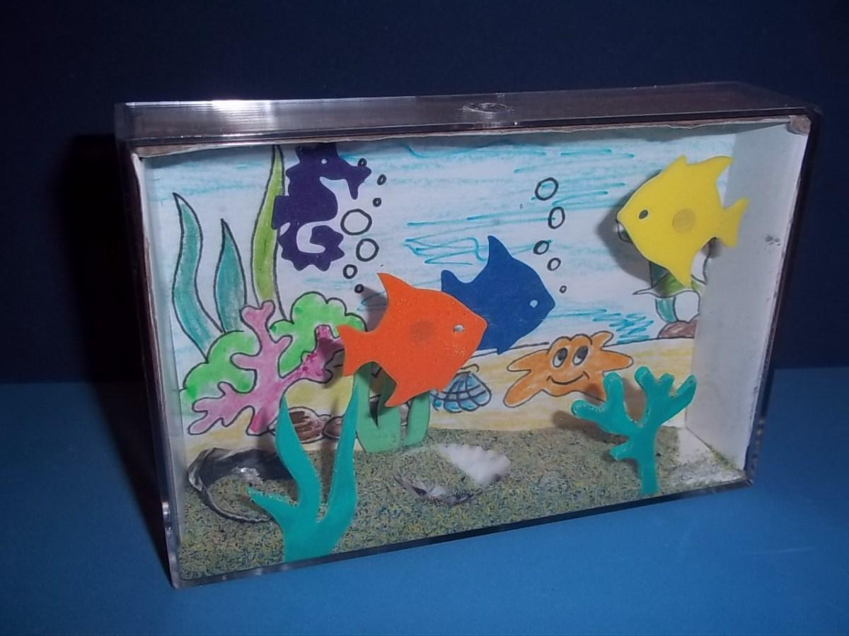 Рыбки для поделки аквариум 619