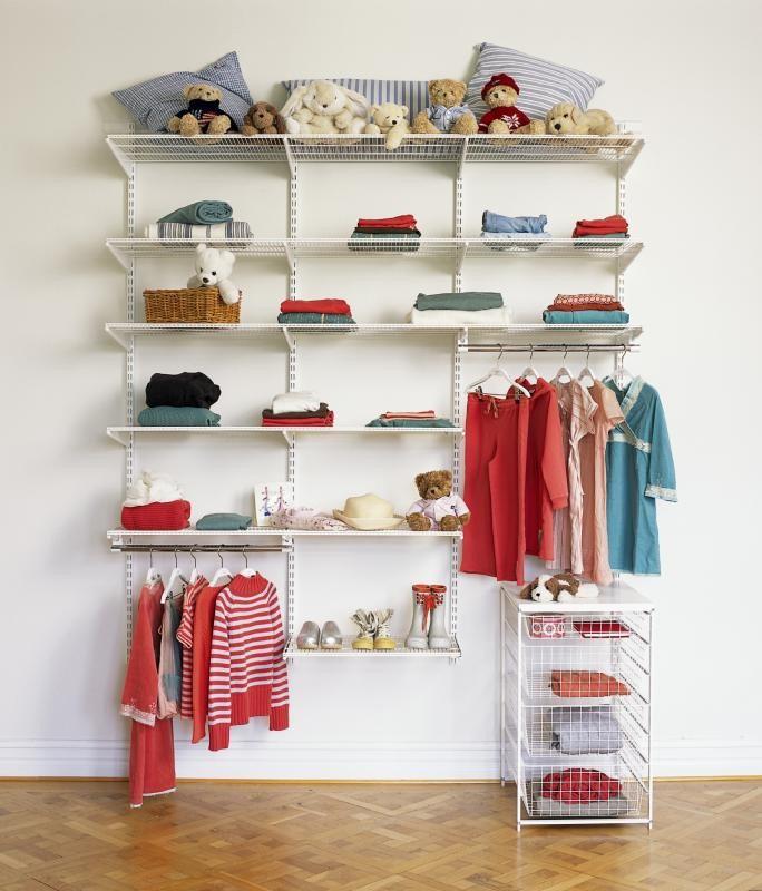 Как организовать детский гардероб - pro mum.