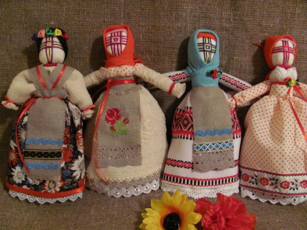 Подарки своими руками в народном стиле