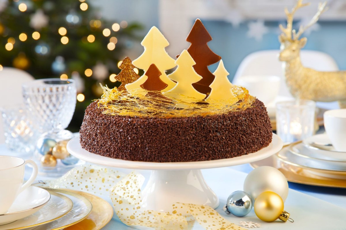 Рождественские десерты: кекс, рулет и пряники