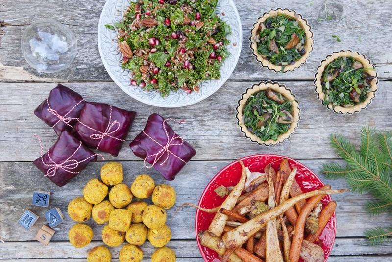 Вегетарианские рецепты. Новогоднее меню