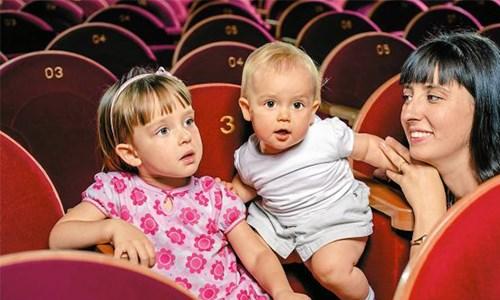 Первое знакомство с театром