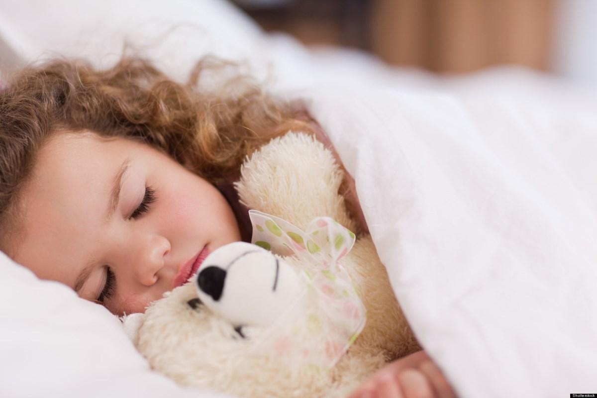 Как научить ребенка спать