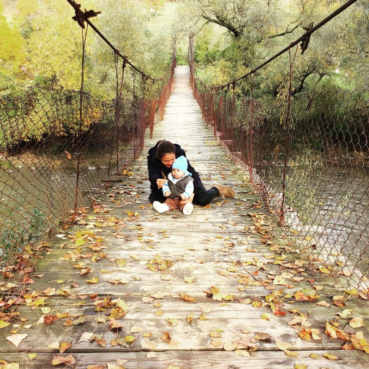 Осенние Карпаты с малышом
