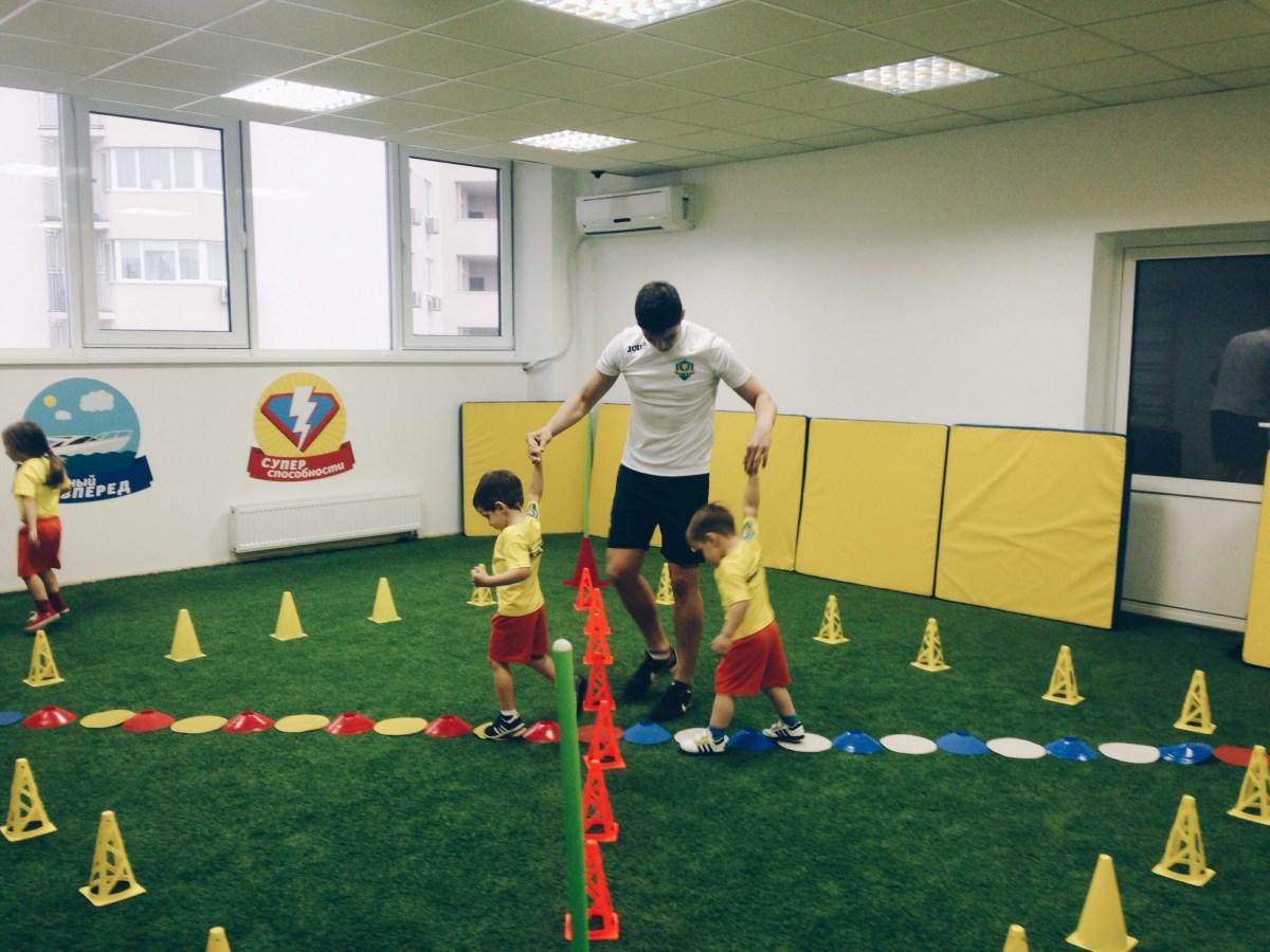 Тест-драйв. Детский спортивный клуб