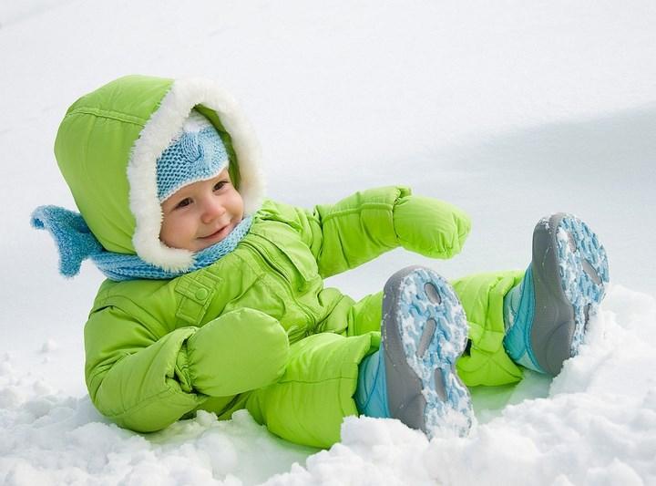 Как защитить детскую кожу зимой