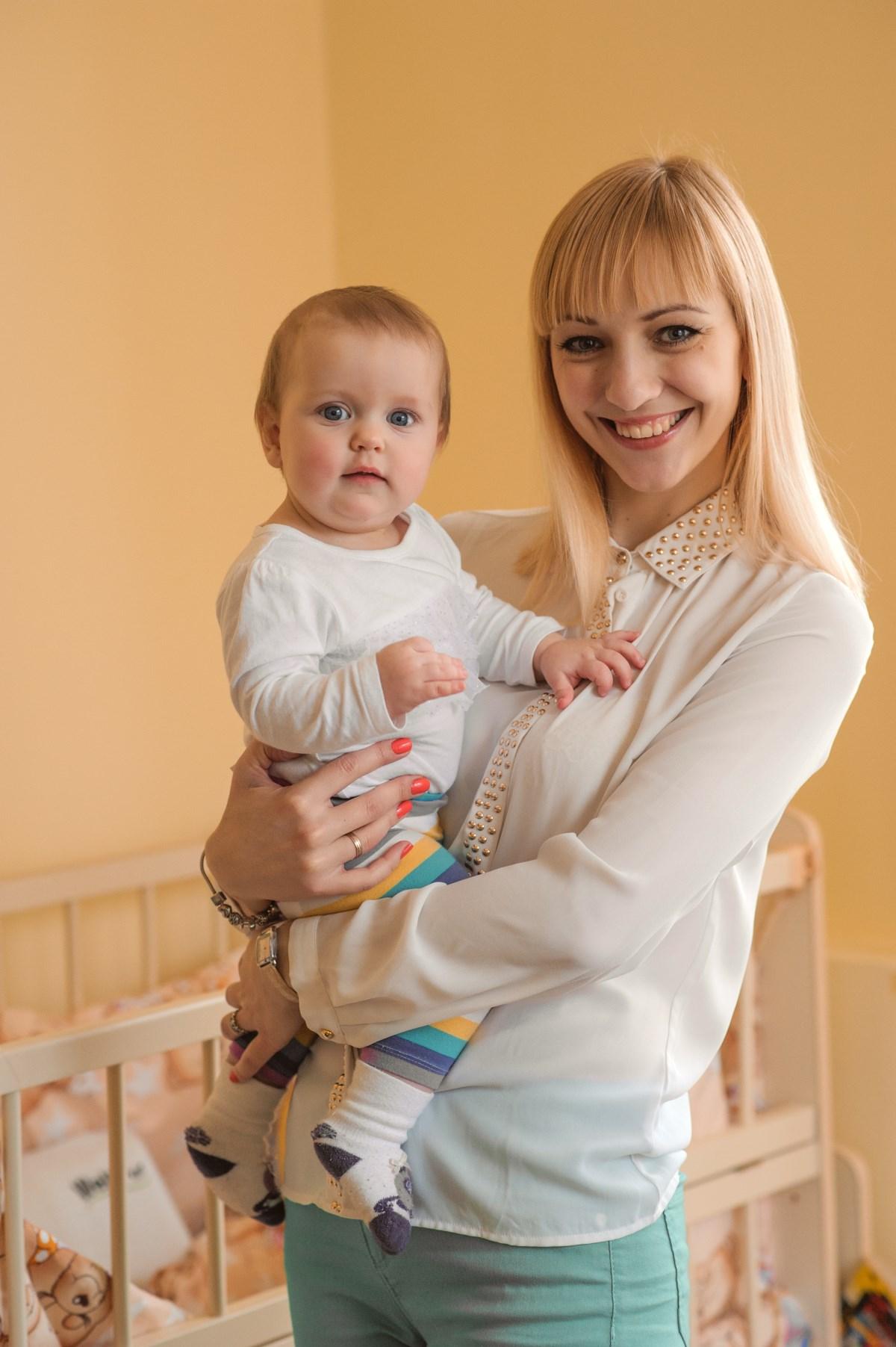 Про12мам. Иннеса Голояд и Эвелина 9 месяцев