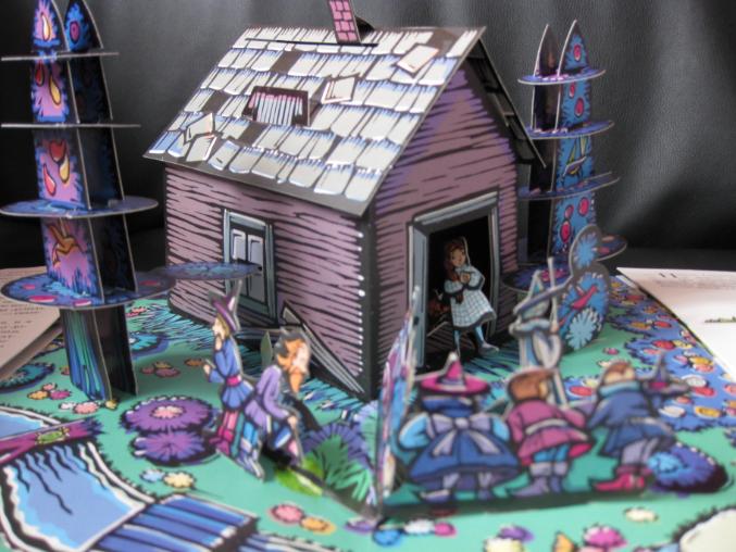 3D книжки как произведение искусства
