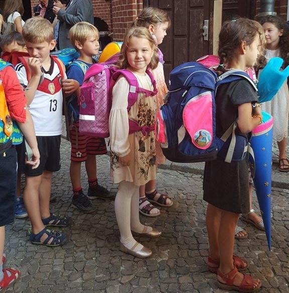 Первый раз в первый класс в Германии