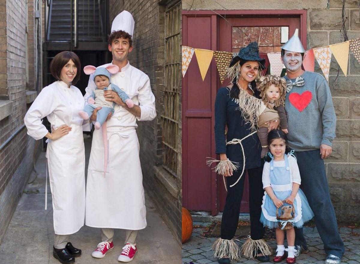 15 самых необычных семейных костюмов для Хэллоуина