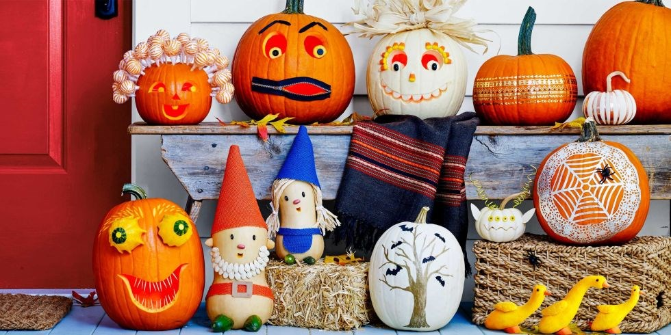 50 оригинальных идей украшения тыквы на Хэллоуин