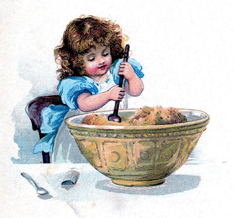 Детская кухня, готовим вместе с ребенком