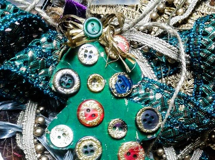 Поделки с детьми. Новогодние украшения на елку своими руками. Часть 1