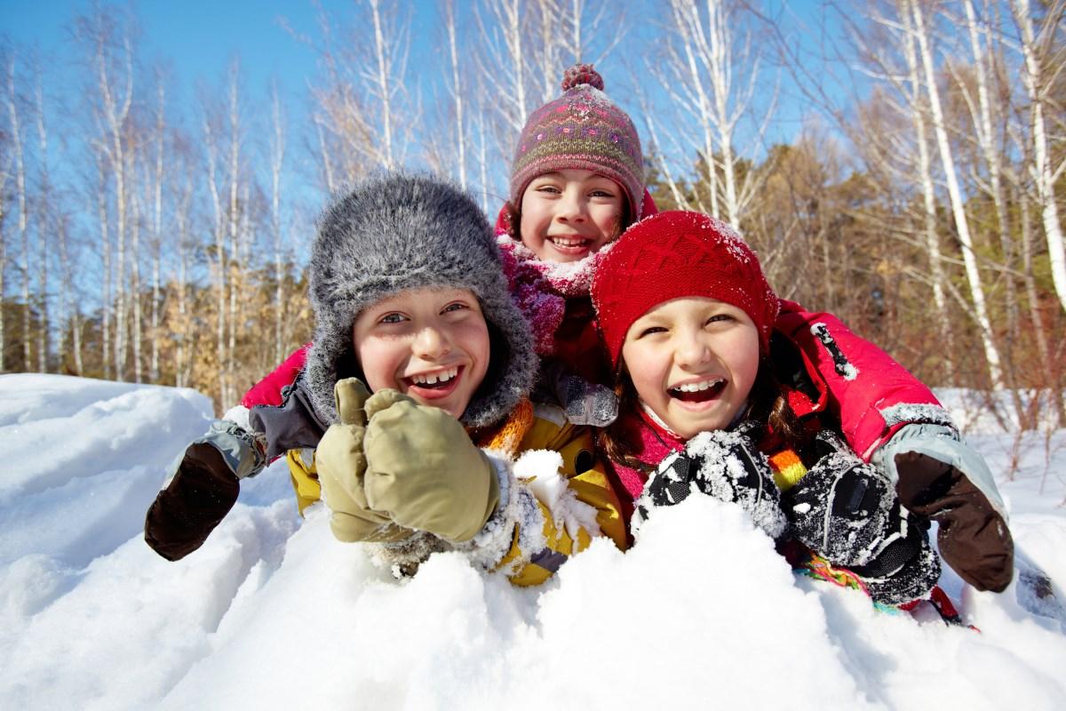 40 вещей, которые нужно успеть сделать зимой с детьми