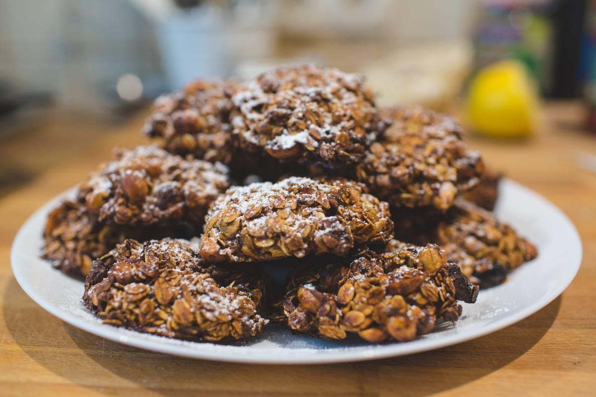 Рецепты мам. Полезные овсяные печенья