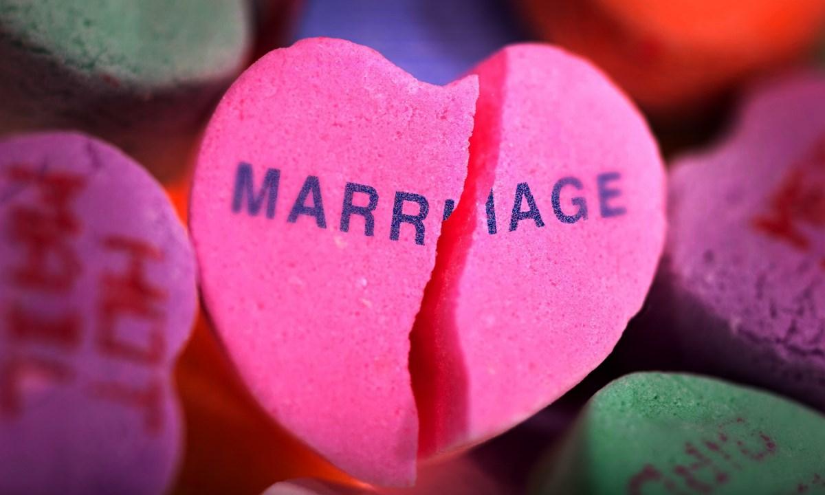 Развод — очень стремное слово