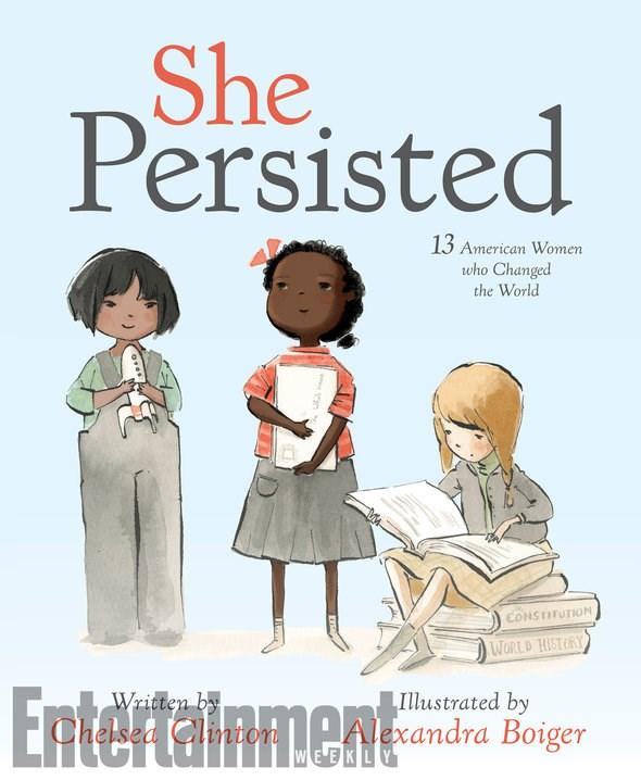 Дочь Хиллари Клинтон выпустит детскую книгу о великих женщинах