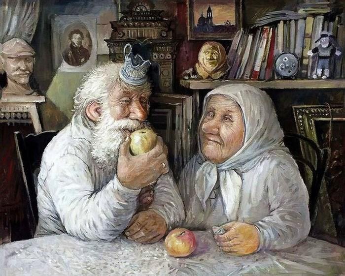 Про любов бабусь та дідусів