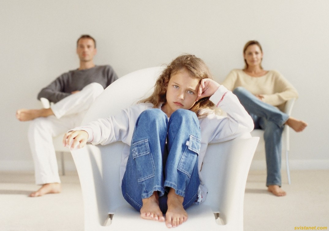 Как сообщить детям о разводе