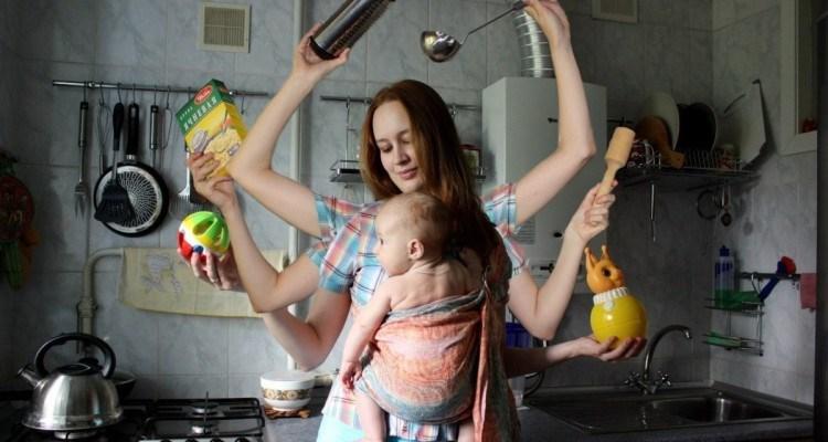Лайфхаки для мам. Как все успевать