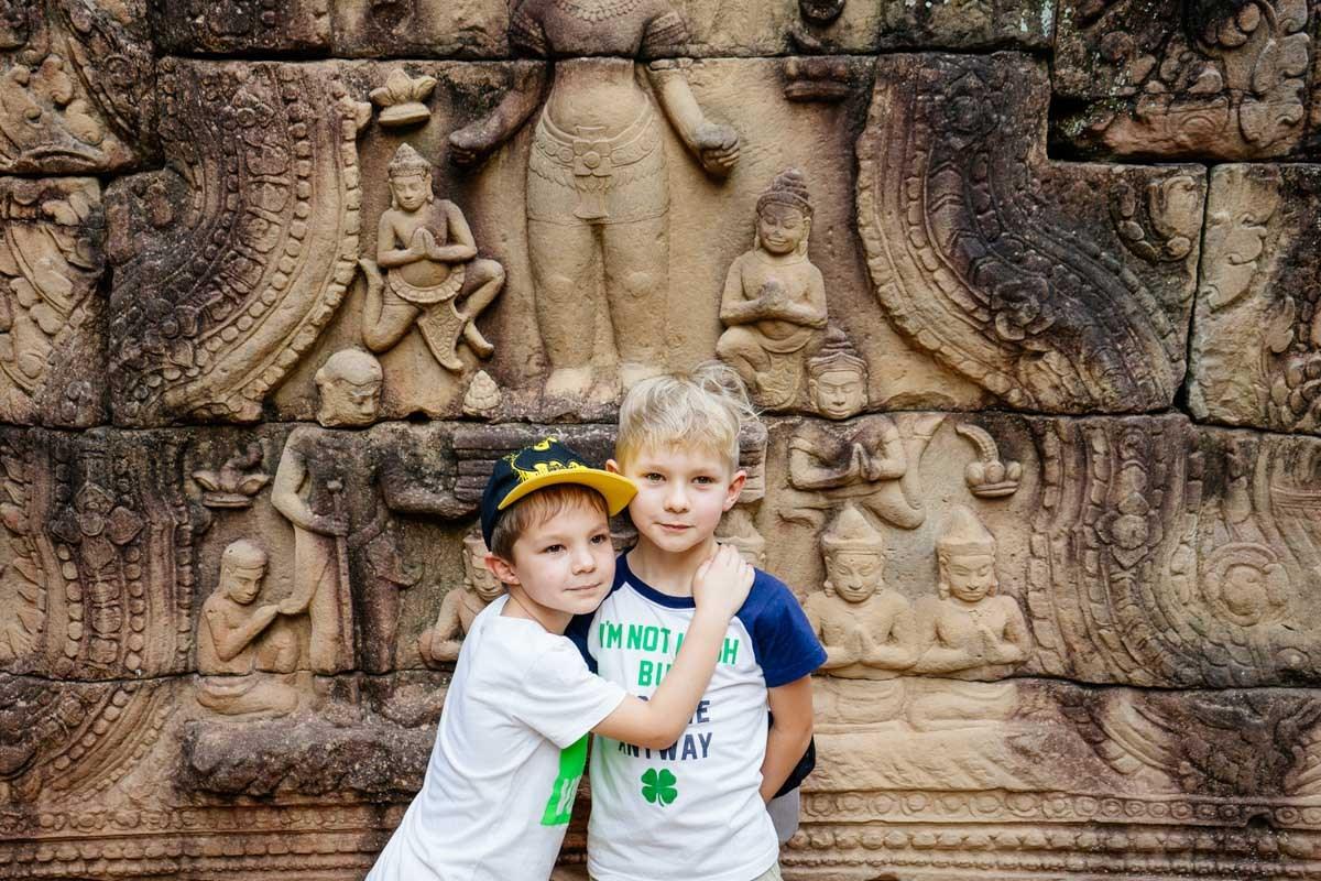 В Камбоджу с детьми: как  добраться, когда ехать, что смотреть