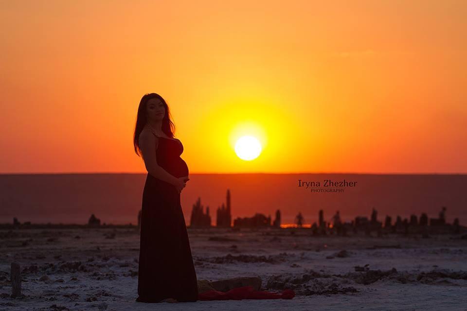 Идеальный срок для беременной фотосессии