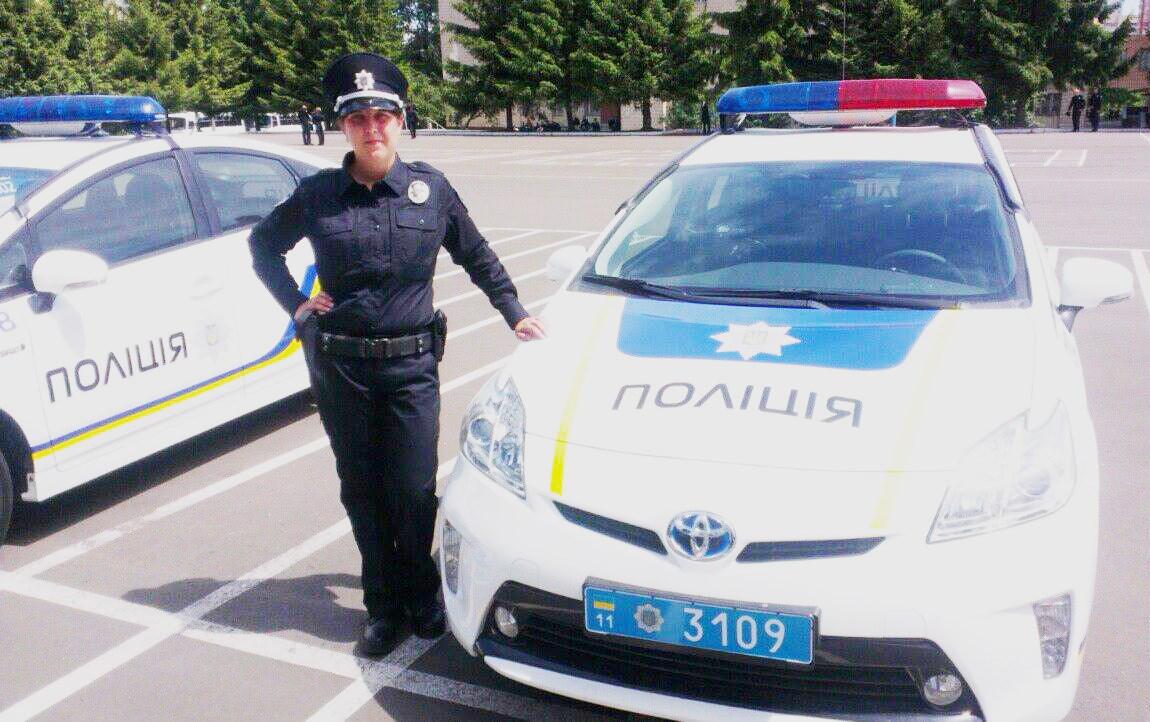 Ирина Шашок, офицер Нацполиции и будущая мама: «У меня есть острое желание изменить к лучшему нашу страну!»