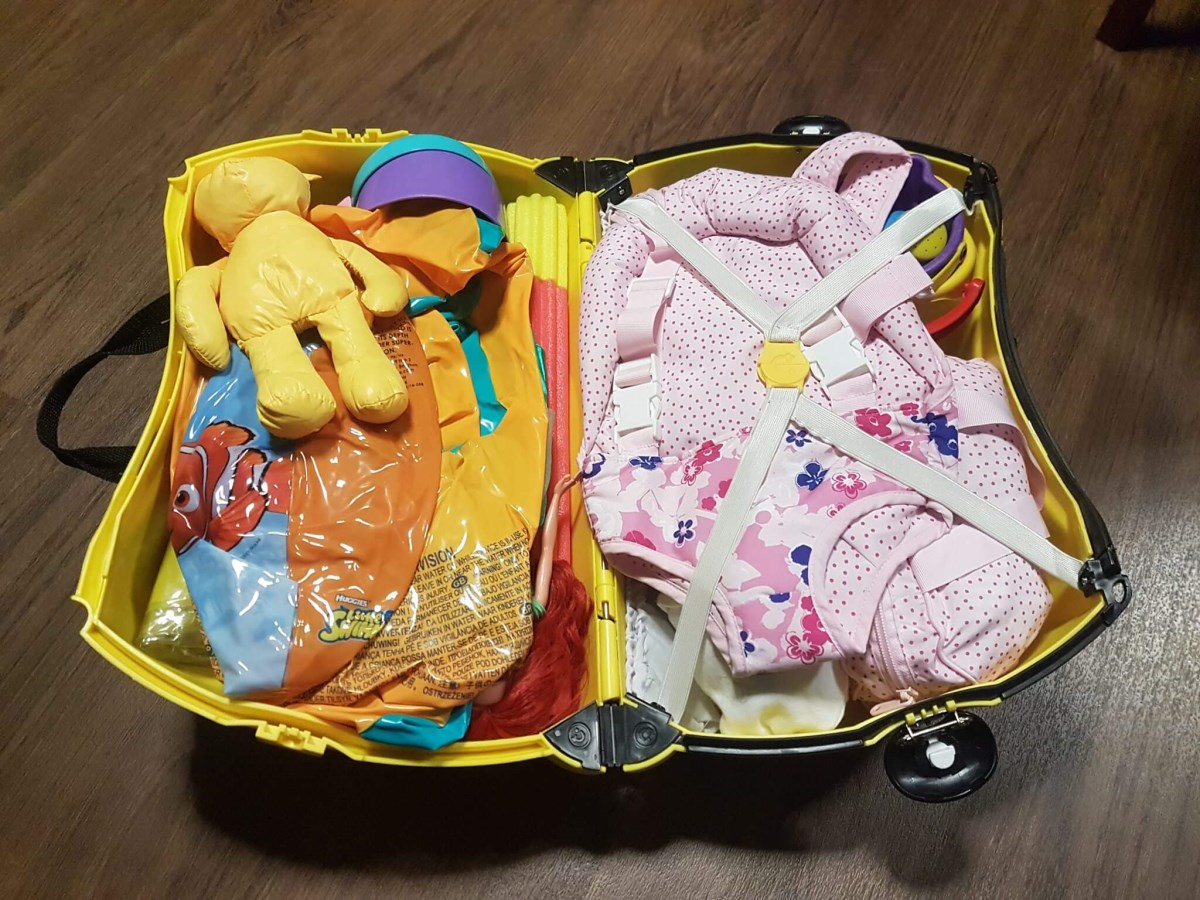 КМС з валізоскладання. Схема укладання речей для пляжної відпустки