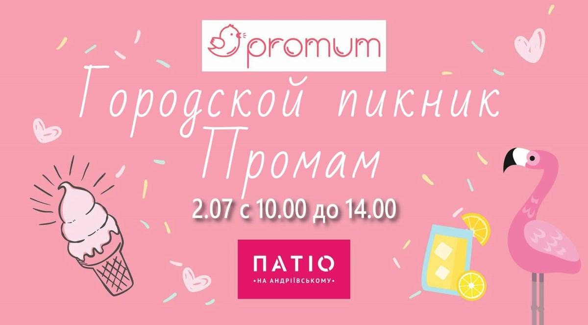 2 июля состоится городской пикник Промам