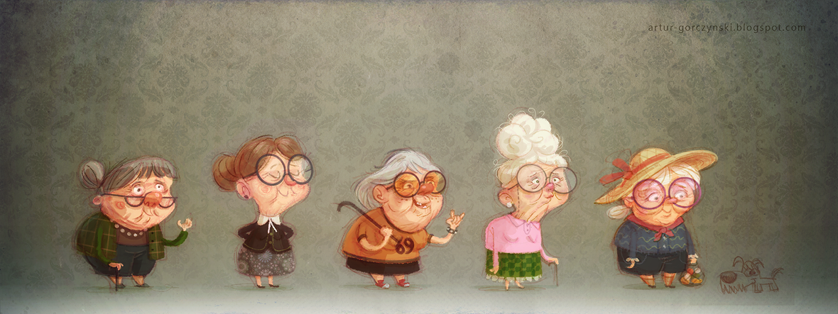 5 видов бабушек: бабушка-фейерверк, бабушка-опека, бабушка-уют, бабушка-всезнайка, бабушка-любимая