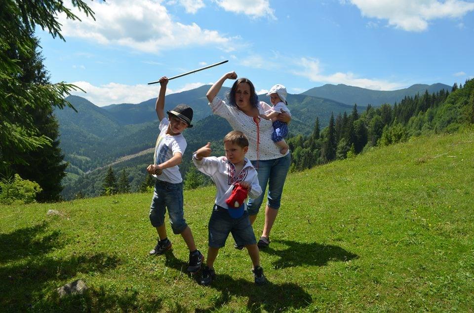 Отдых с тремя детьми в горах