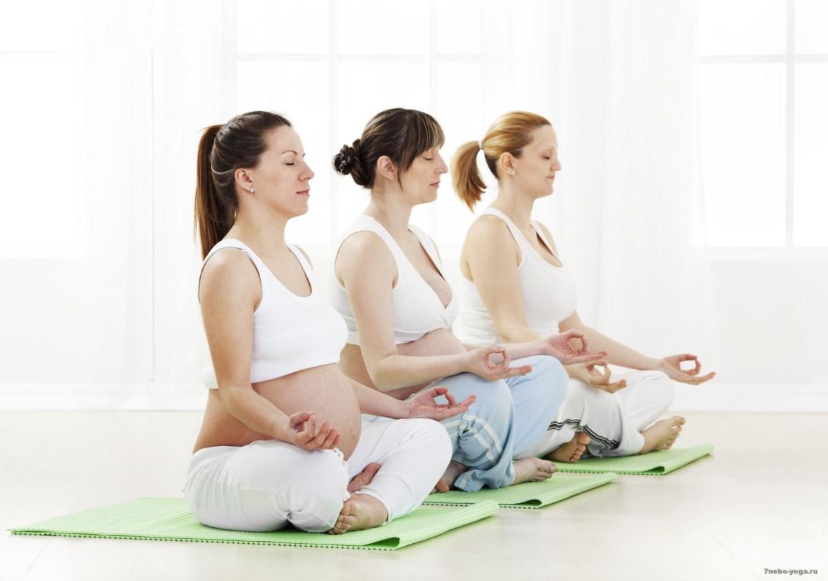 Полезные занятия для беременных
