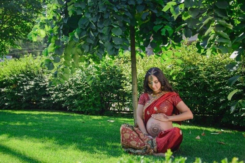 Такой креативной фотосессии беременных вы ещё не видели