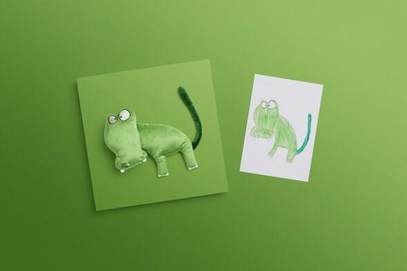 IKEA снова превратила детские рисунки в настоящие игрушки