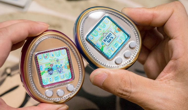 Пользователи iOS и Android смогут играть в Тамагочи