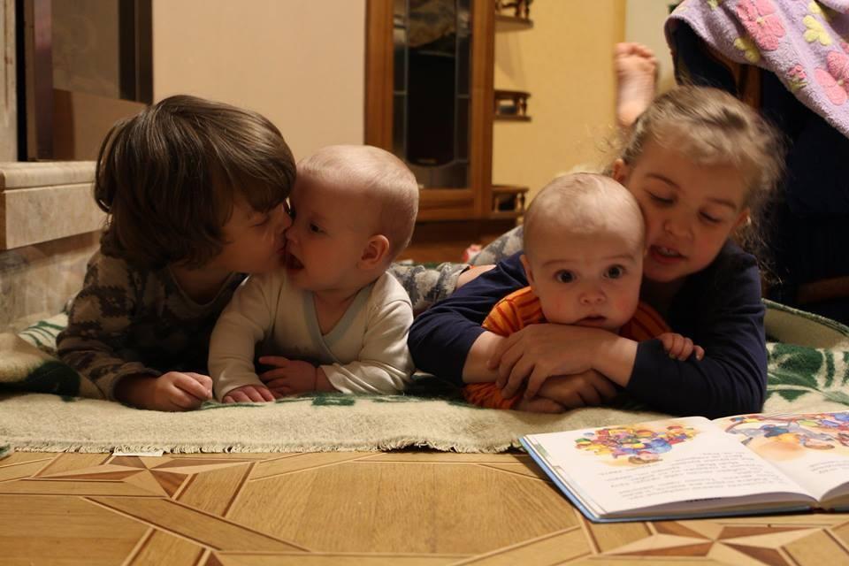 Папа четверых о том, как быть многодетными родителями