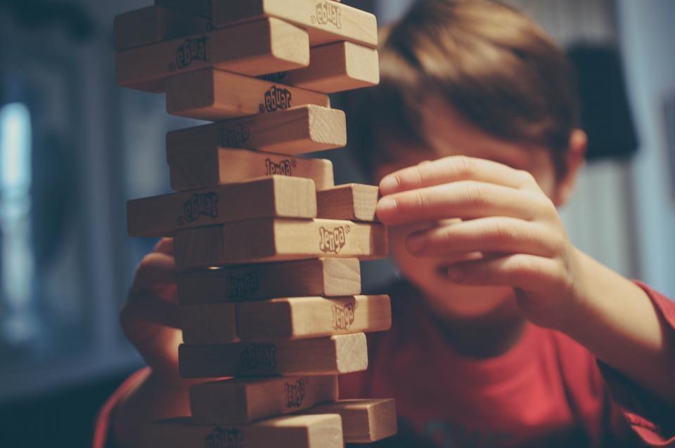 Когда ребенок играет, у него все хорошо
