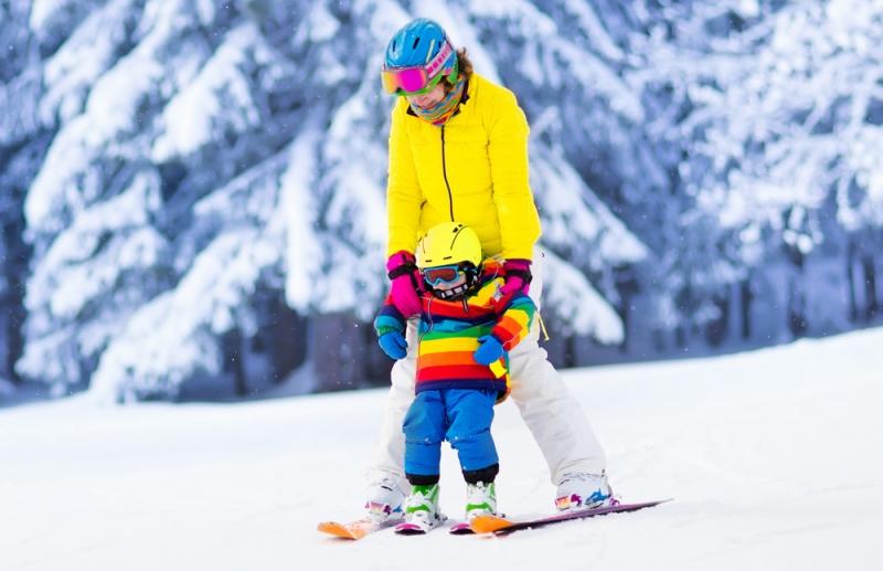 Где покататься на лыжах и сноуборде с детьми недалеко от Киева