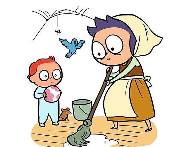 10 комиксов, которые показывают разницу между первым и вторым ребенком
