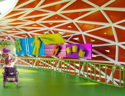 В Днепре открыли первый в Украине инклюзивный парк