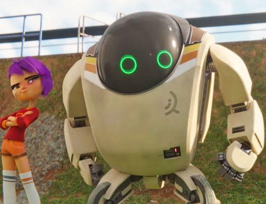 Новый мультфильм от Netflix «Следующее поколение» про восстание машин и дружбу робота c девочкой