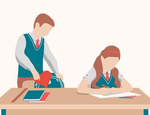 Школьная любовь: можно ли научить ребенка правильно ухаживать?