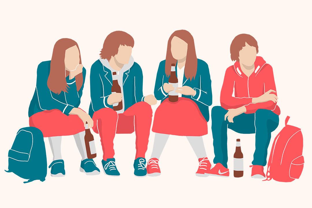 Почему дети начинают пить алкоголь