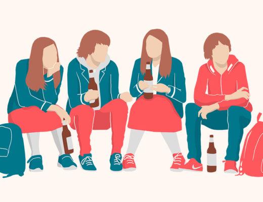 Почему ребенок начал выпивать и что с этим делать? Ответы психолога
