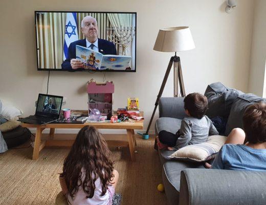 В помощь родителям. Президент Израиля читает сказки онлайн на время карантина (видео)